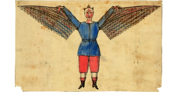 facebook sized ornithopter man, [Public Domain] via Creative Commons